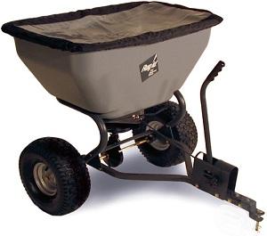 épandeur trainé pour tondeuse autoportées tracteur tondeuse